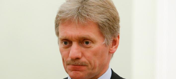 Ο εκπρόσωπος Ντμίτρι Πεσκόφ, Φωτογραφία: AP