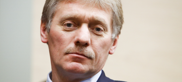 Ο Ντμίτρι Πεσκόφ (Φωτογραφία: AP/ Sergei Karpukhin)