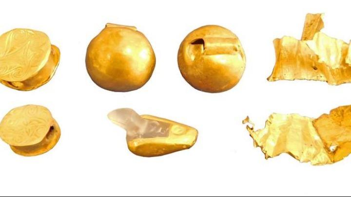 Περίτεχνα ευρήματα από χρυσό και ασήμι