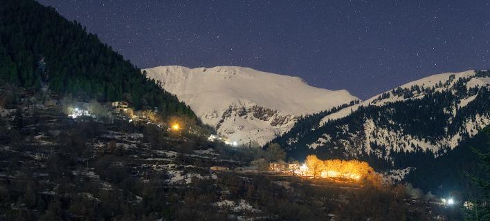 «Εναστρη νύχτα στο...Πετρίλο». Φωτογραφία: Κωνσταντίνος Βασιλακάκος