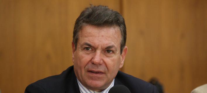 Ο υφυπουργός Κοινωνικής Ασφάλισης, Τάσος Πετρόπουλος/Φωτογραφία: Eurokinissi