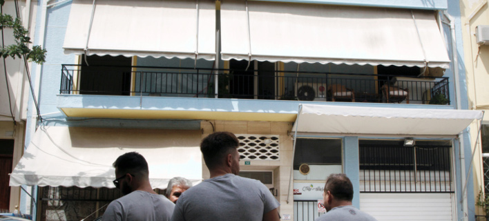 το διαμέρισμα που άφησε την τελευταία της πνοή η 18χρονη/Φωτογραφία: Eurokinissi
