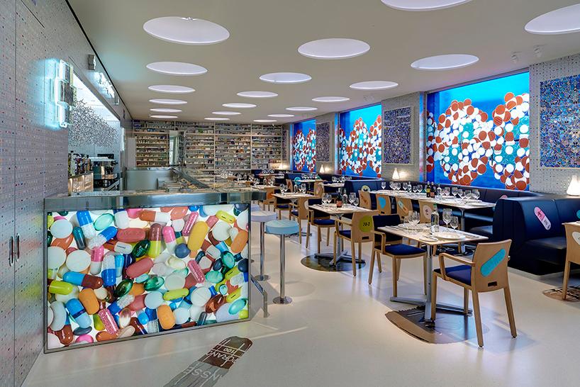 Το λονδρέζικο εστιατόριο που μοιάζει πραγματικά με φαρμακείο