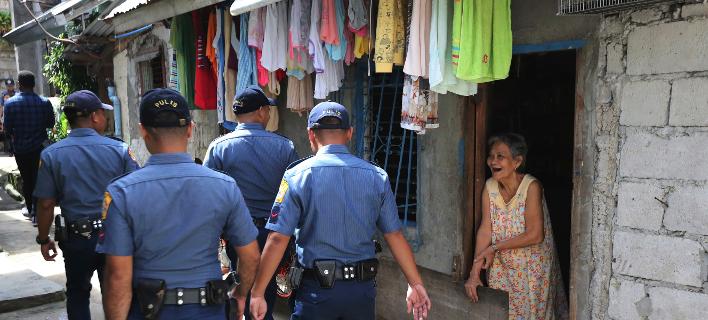 Φωτογραφία: AP- Αστυνομία στις Φιλιππίνες