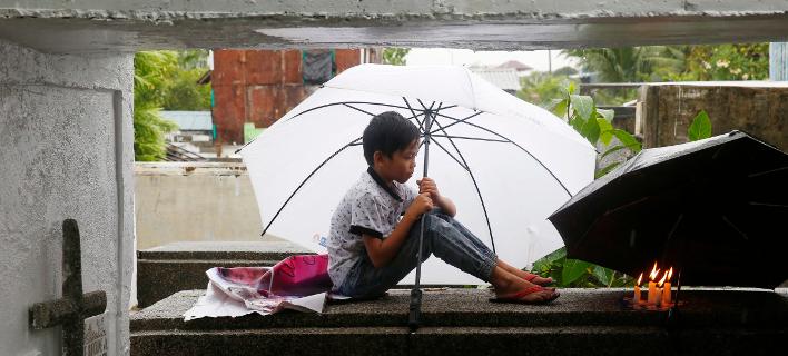 τυφώνας στις Φιλιππίνες/Φωτογραφία: AP