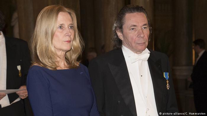 O φωτογράφος Jean-Claude Arnault με την γυναίκα του και μέλος της Σουηδικής Ακαδημίας