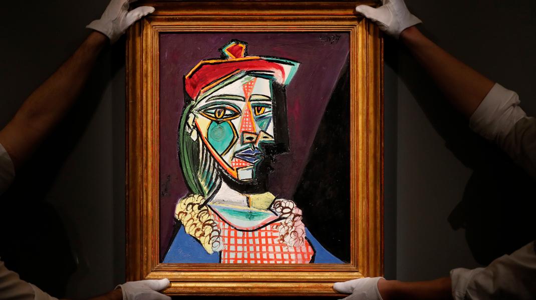 Σε δημοπρασία πίνακας του Πικάσο -Τι είναι όμως αυτό που κρύβει; -Φωτογραφία AP/Frank Augstein