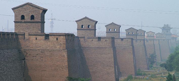 Τα τείχη της πόλης Πινγκιάο στην Κίνα. Πηγή φωτό: Wikipedia