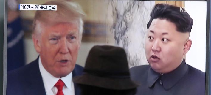 Παραμένει η ένταση ΗΠΑ- Β. Κορέας/ Φωτογραφία: Ahn Young-joon/ AP