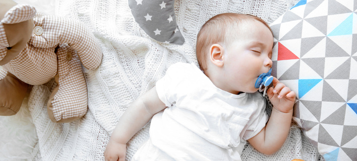 Μωρό κοιμάται. Φωτογραφία: Shutterstock
