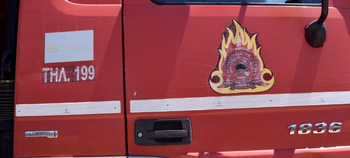 Όχημα πυροσβεστικής/ Φωτογραφία eurokinissi