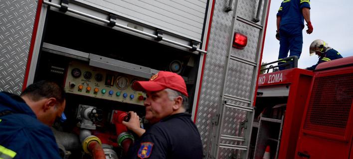 Φωτιά σε εργοστάσιο /Φωτογραφία Αρχείου: Intime News
