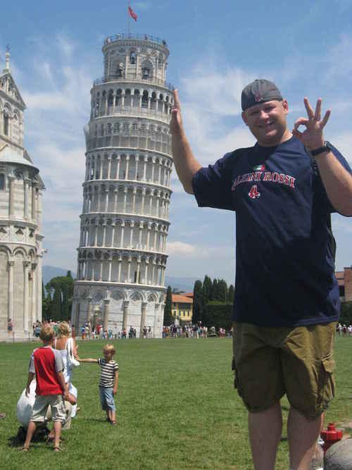 Στηρίζοντας τον Πύργο της Πίζας