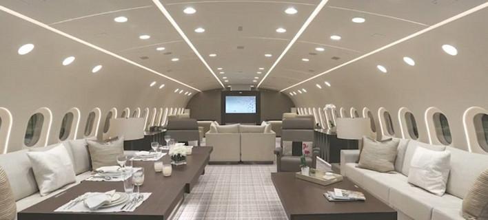 Το πρώτο αεροπλάνο πολυτελείας -Με χλιδή πεντάστερου ξενοδοχείου [εικόνες]
