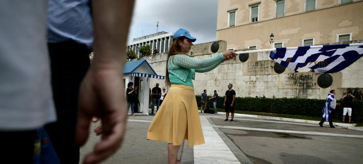 Κίνηση στην πλατεία Συντάγματος /Φωτογραφία Αρχείου: Intime News