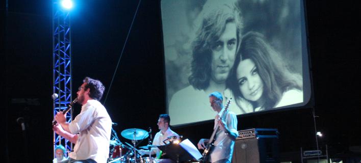 Στιγμιότυπο από τη μουσική εκδήλωση (Φωτογραφία: EUROKINISSI/ ΧΡΗΣΤΟΣ ΜΠΟΝΗΣ)