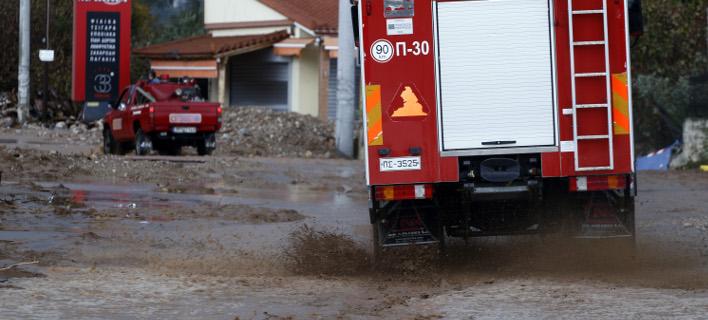 Νεκρή μια 59χρονη από την κακοκαιρία (Φωτογραφία αρχείου: EUROKINISSI/ΓΙΩΡΓΟΣ ΚΟΝΤΑΡΙΝΗΣ)