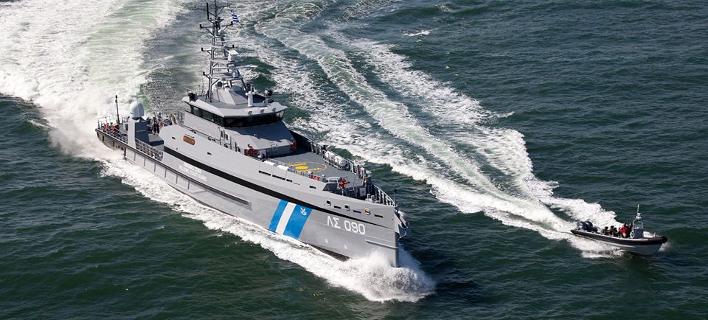 Το σκάφος «Γαύδος» του Λιμενικού