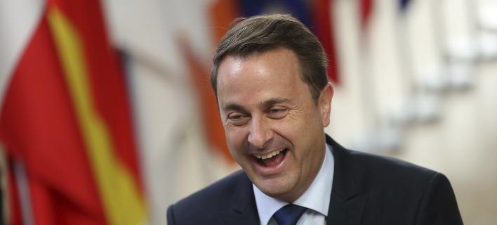 Ο πρωθυπουργός του Λουξεμβούργου Χαβιέ Μπετέλ- φωτογραφία AP