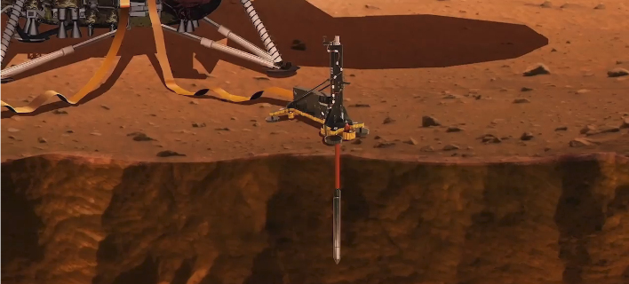 Ιστορική στιγμή: Live η προσεδάφιση του Insight στον πλανήτη Αρη