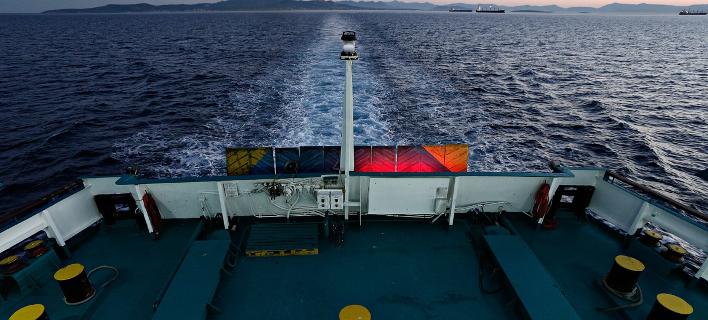 Καράβι εν πλω/Φωτογραφία: Eurokinissi
