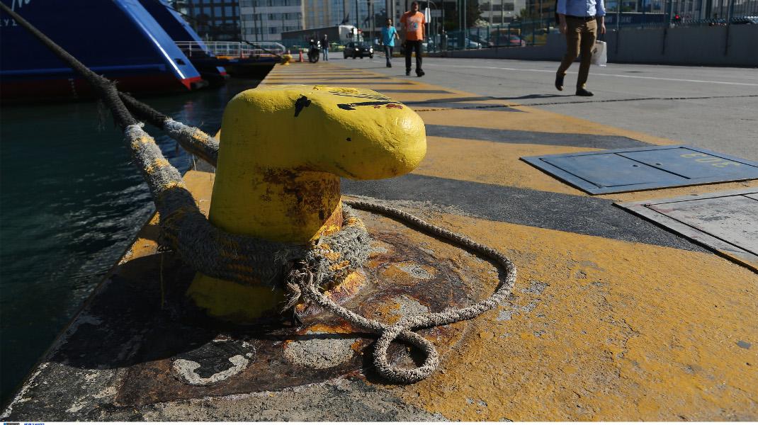 Δεμένα στα μουράγια τα πλοία, λόγω της 24ωρης απεργίας της ΠΝΟ -Φωτογραφία: Intimenews/ΛΙΑΚΟΣ ΓΙΑΝΝΗΣ