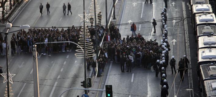 «Αστακός» η Αθήνα για την επέτειο του Πολυτεχνείου -Κλειστοί δρόμοι