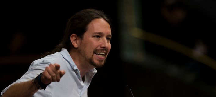 Ο επικεφαλής των Podemos, Πάμπλο Ιγκλέσιας/Φωτογραφία: ΑΡ