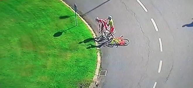 Η ζέστη, το άγχος και η κούραση έβγαλαν δύο ποδηλάτες εκτός εαυτού -Πιάστηκαν στ