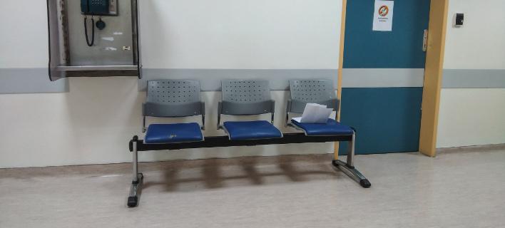 Στιγμιότυπο από αίθουσα ιατρείου σε δημόσιο νοσοκομείο/Φωτογραφία: Eurokinissi