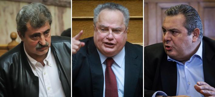 Τρεις υπουργοί απειλούν και εκβιάζουν -Η Ελλάδα της παρακμής
