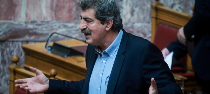 Ο Παύλος Πολάκης στη Βουλή / Φωτογραφία: EUROKINISSI