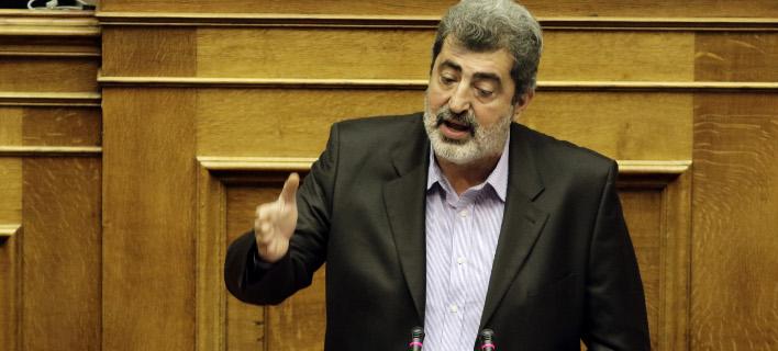 Ο Παύλος Πολάκης (Φωτογραφία: EUROKINISSI/ΓΙΑΝΝΗΣ ΠΑΝΑΓΟΠΟΥΛΟΣ)