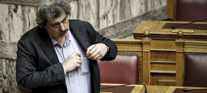 Ο Παύλος Πολάκης (Φωτογραφία: EUROKINISSI/ΓΙΩΡΓΟΣ ΚΟΝΤΑΡΙΝΗΣ)