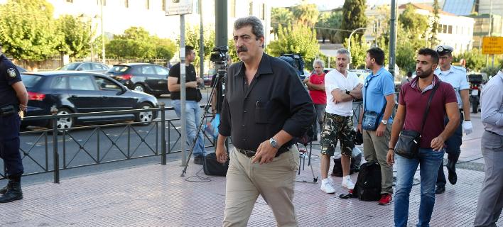 O αναπληρωτής υπουργός Υγείας Παύλος Πολάκης/Φωτογραφία: Eurokinissi