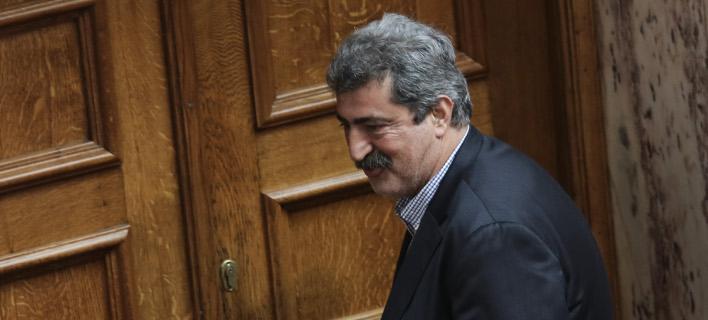 Πανηγυρίζει ο Πολάκης για την συνάντηση Τσίπρα-Τραμπ -Φωτογραφία: Intimenews/ΛΙΑΚΟΣ ΓΙΑΝΝΗΣ