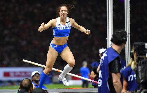 Η Στεφανίδη διατήρησε τον τίτλο της πρωταθλήτριας Ευρώπης
