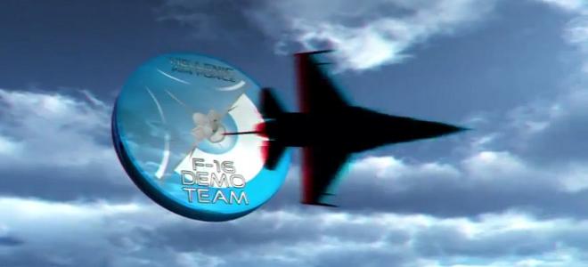 Το πρώτο τρισδιάστατο βίντεο της Πολεμικής Αεροπορίας