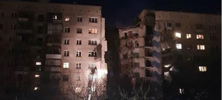 Πολυκατοικία κατέρρευσε στην Ρωσία