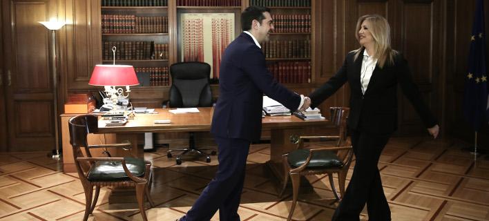 Φώφη Γεννηματά: Ο Τσίπρας πήγε σε διαπραγμάτευση χωρίς να έχει επιβεβαιώσει την Εθνική Γραμμή