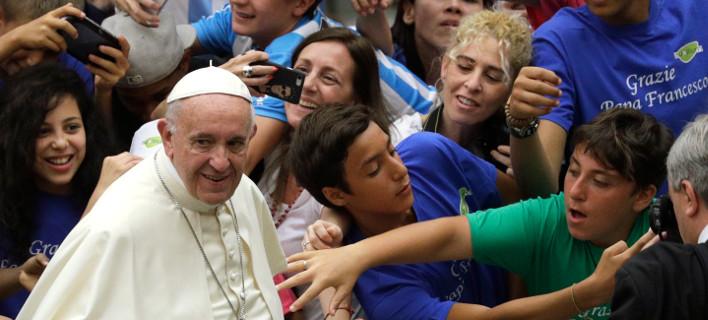 Ο Πάπας Φραγκίσκος/ Φωτογραφία: Gregorio Borgia/ AP
