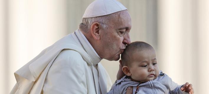 Ο πάπας Φραγκίσκος/ φωτογραφία: ap