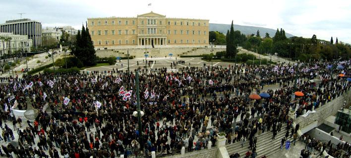 Ολη η Ελλάδα στο δρόμο -Πρωτοφανής συμμετοχή στην απεργία [εικόνες]