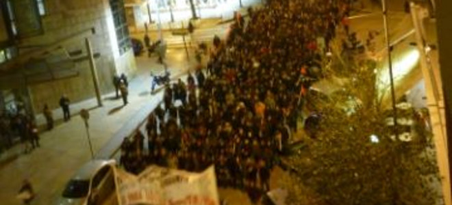Χωρίς επεισόδια η απογευματινή πορεία για τον Αλέξη στη Θεσσαλονίκη