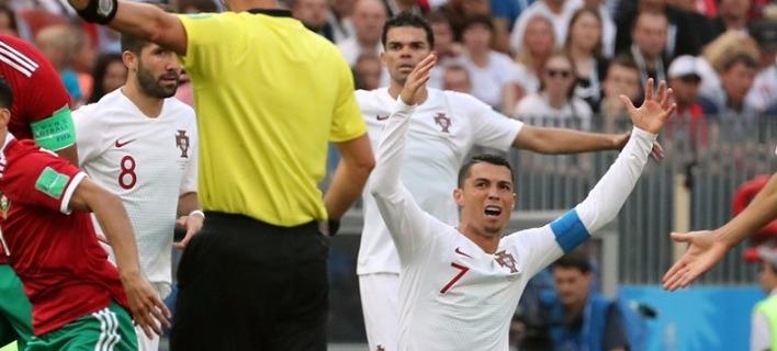 Μουντιάλ 2018: Η FIFA διαψεύδει ότι ο διαιτητής ζήτησε την φανέλα του Ρονάλντο