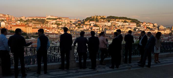 Η Λισαβόνα από ψηλά/Φωτογραφία: Pixabay