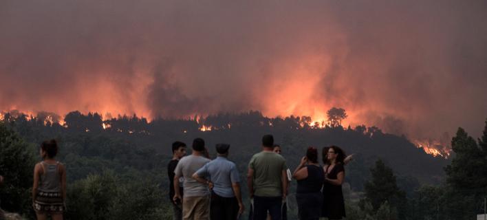 φωτιές στην Πορτογαλία/Φωτογραφία: AP