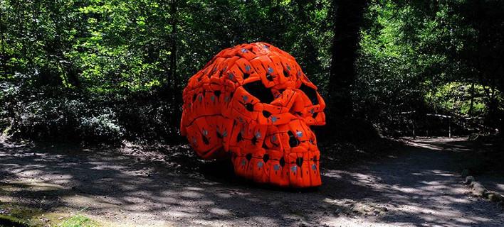 Το γλυπτό «14.000 νιούτον», φωτογραφίες: facebook.com/poldraproject