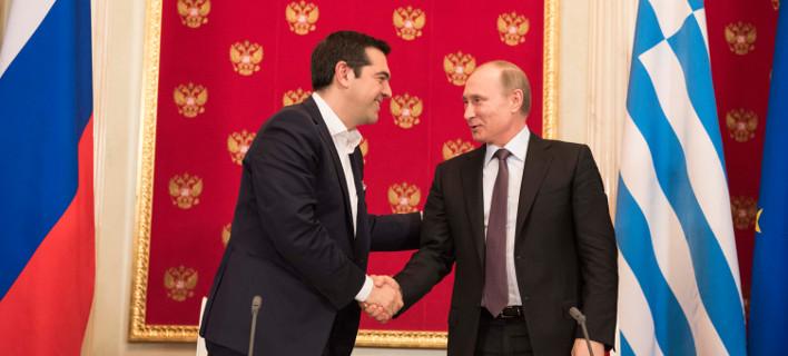 Τηλεφωνική επικοινωνία Τσίπρα – Πούτιν για τα ενεργειακά