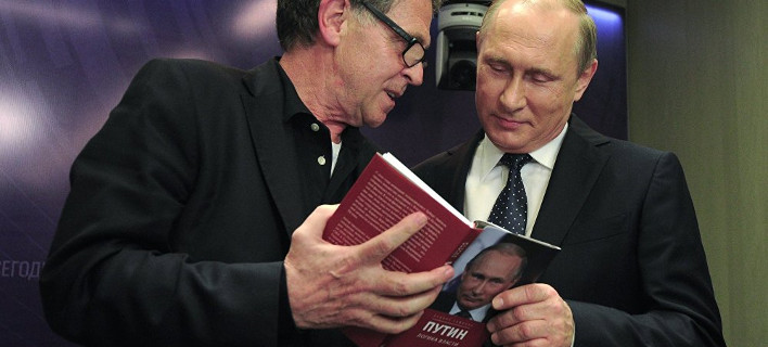 Χούµπερτ Ζάιπελ και Βλάντιμιρ Πούτιν, φωτογραφία: sputniknews.com